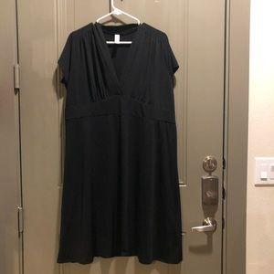 Merona Swim CoverUp Dress Black 2X